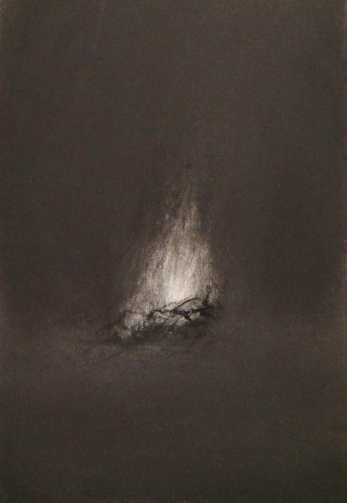 Feu, fusain sur papier,2019, 25,5x17,5 cm.JPG